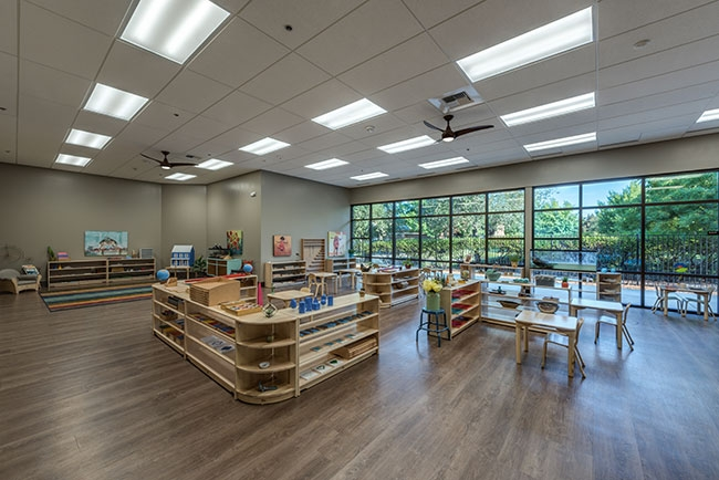 Bergamo Montessori School – Interiors