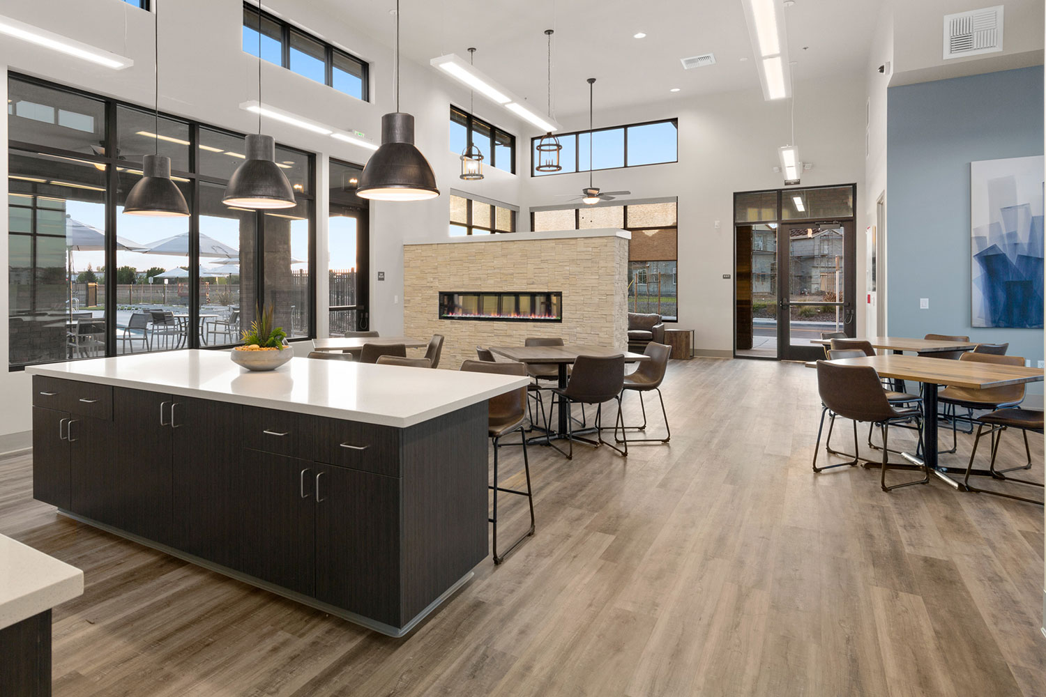 Natomas Meadows Clubhouse Interiors